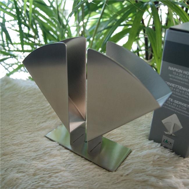 20659 CANDO napkin holder / ドイツZACK社のステンレス製モダンデザインのナプキンホルダー