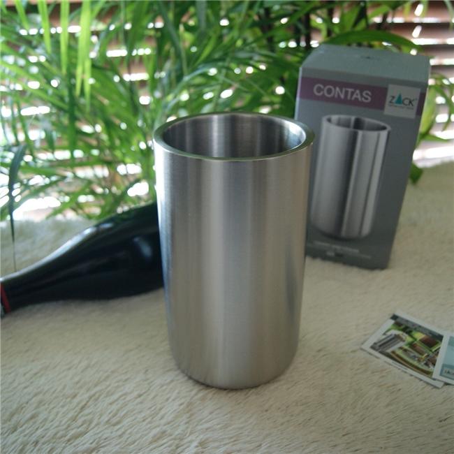 20125 CONTAS wine cooler / ドイツZACK社のステンレス製モダンデザインのワインクーラー