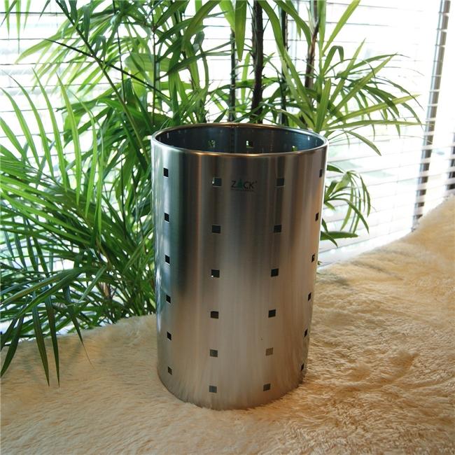50511 QUADRO waste paper basket / ドイツZACK社のステンレス製ペーパーバスケット