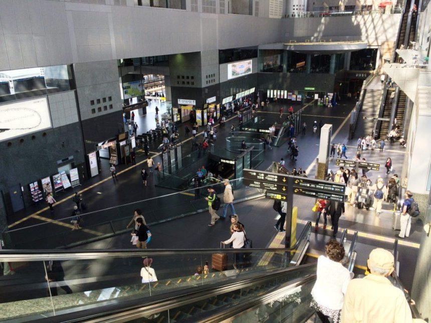 JR京都駅改札