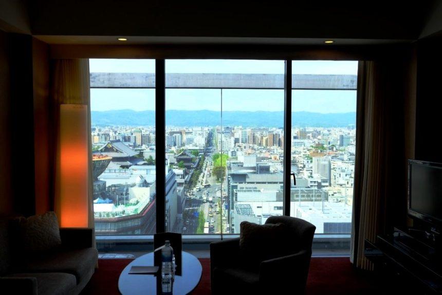 ホテルグランヴィア京都 グランヴィアフロア 京都市内を一望する眺望 ビュー