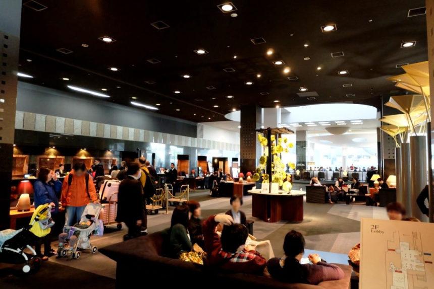 ホテルグランヴィア京都 エントランスホール