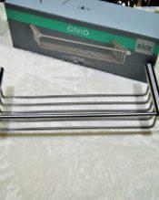 2011年9月にパリで行われたMaison&Objetで発表されたシングルレイヤーのシャワーバスケットです。同じデザインでダブルレイヤーの40239 シャワーバスケットというアイテムも同時にリリースされました。 18/10ステンレス製 7x32x12.5cm(内側280x105mm)640g