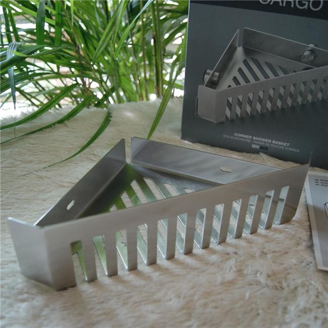 40411 CARGO Corner shower basket / ドイツZACK社製モダンデザインのシャワーバスケット