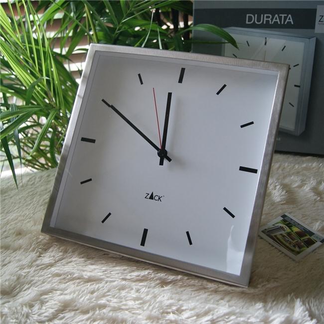 60061 DURATA wall clock, Quartz / ドイツZACK社製モダンデザインのウォールクロック