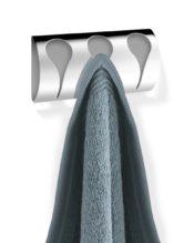 2016年2月にフランクフルト・アンビエンテで発表された新作のタオルクリップラックです。 18/10ステンレス製 W15cm H7.5cm D2.5cm