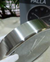 2016年2月にフランクフルト・アンビエンテで発表された新作のウォールクロック(小)です。 18/10ステンレス製 D24cm