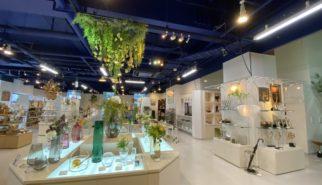 人工樹木 アーティフィシャルフラワー ステンレス 花器